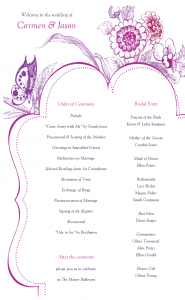 free program templates wedding programs templates ahcnitm