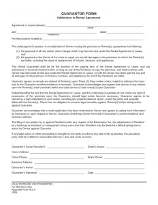 free rental agreement forms guarantor form addendum to rental agreement l