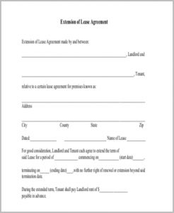 free rental agreement forms lease renewal agreement form