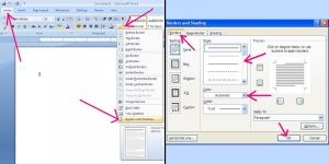 free restaurant menu templates create a border for your menu on windows