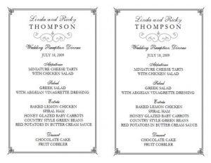 free restaurant menu templates menu templates for word twxo