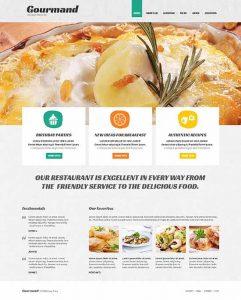 free restaurant menu templates responsive joomla cafe restaurant template