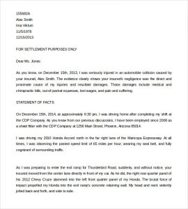 free sample demand letter for payment insurance demand letter template for car accident