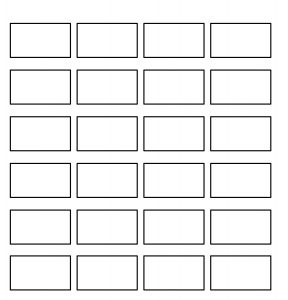 free storyboard templates x grid