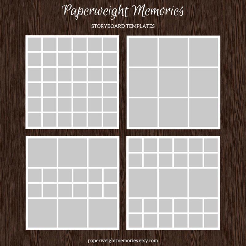 free storyboard templates