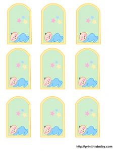 free tag templates babytag