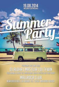 free thanksgiving templates summer party flyer template awesomeflyer com preview