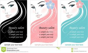 free time card template stylish face woman template design card