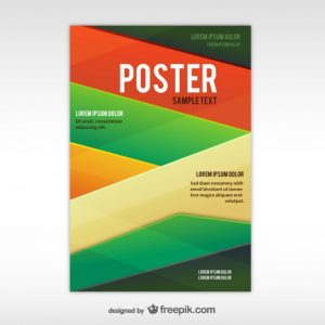 free wanted poster template geometric abstract poster template