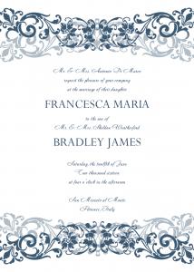 free wedding invitation templates for word wedding invitation templates