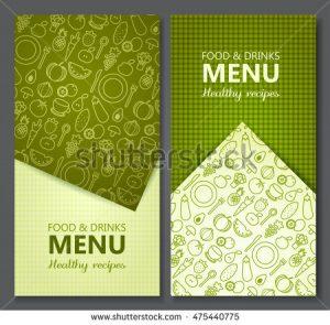 free wedding menu templates stock vector menu card design templates vector illustration