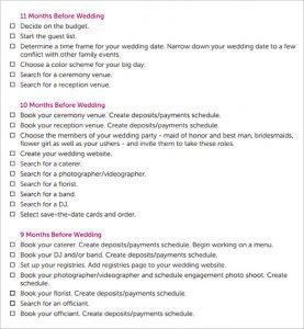 free wedding program template word free wedding day schedule template