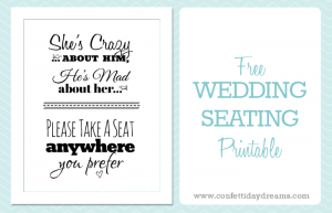 free wedding seating chart template take a seat anywhere you prefer free printable