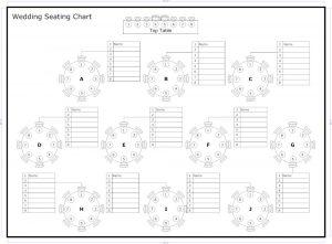 free wedding seating chart template wedding seating chart template
