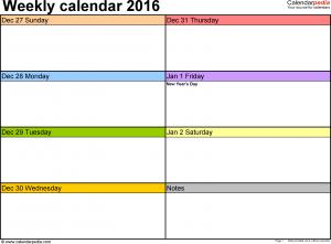 free weekly calendar weekly calendar