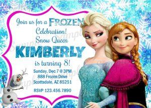 frozen bday invites il fullxfull qlns