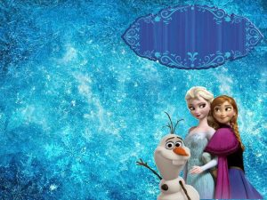 frozen bday invites zoe frozen banner blank logo