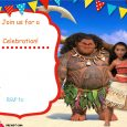 frozen bday party invitations free printable moana invitation template