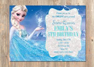 frozen birthday invitations il fullxfull gbrz