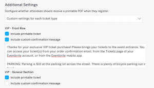 fund raising letter templates customize order confirmation by ticket type