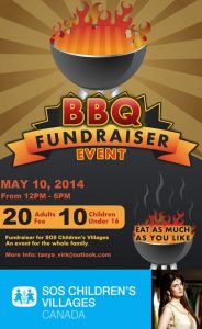 fundraiser flyer template barbeque event x