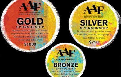 fundraiser flyer template sponsorship levels