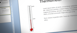 fundraiser thermometer templates fundraising thermometer template