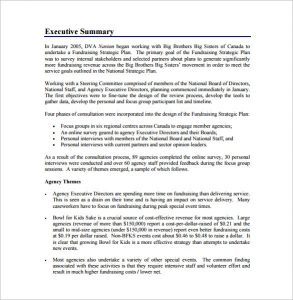 fundraising plan template fundraising strategic plan free pdf template download