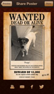 funny wanted posters wanted