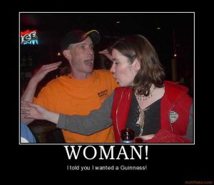 funny wanted posters woman bukiboo guiness woman beer funny angry demotivational poster