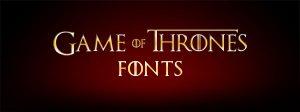game of thrones fonts game of thrones fonts