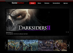 gaming website templates fdbccefbdeca