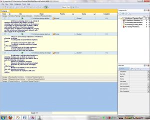 gantt chart word workforce planning checklist