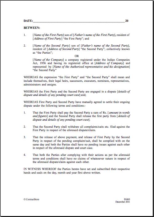 general contractor agreement