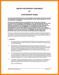 general partnership agreement general partnership agreement template