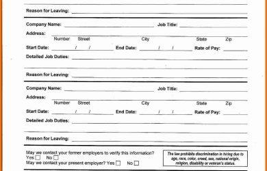 generic employment application generic job application generic job application printable attendance sheet downloadgeneric job application
