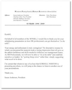 generic reference letter western pennsylania human resources association