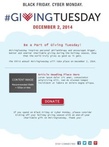 giving donation letter email template giving tuesday x