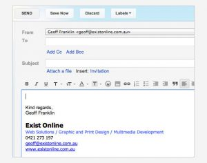 gmail signature template email signature in gmail