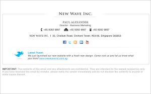 gmail signature template email signature template