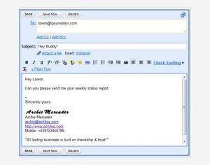 gmail signature template html gmail signature template