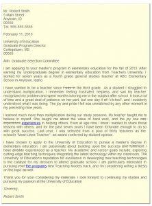 graduate school letter of intent letter of intent final edit