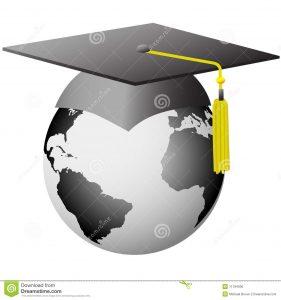 graduation thank you letter world graduation global graduate cap earth