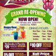 grand opening flyer grand opening flyer grand opening flyer template 107425