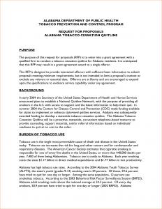 grant proposal template grant proposal template