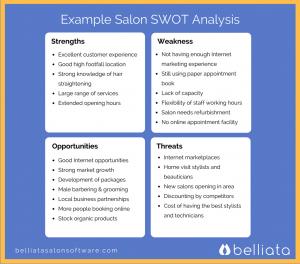 hair saloon business plan salon swot analysis example
