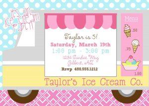 halloween invitations templates ice cream social birthday party invitations