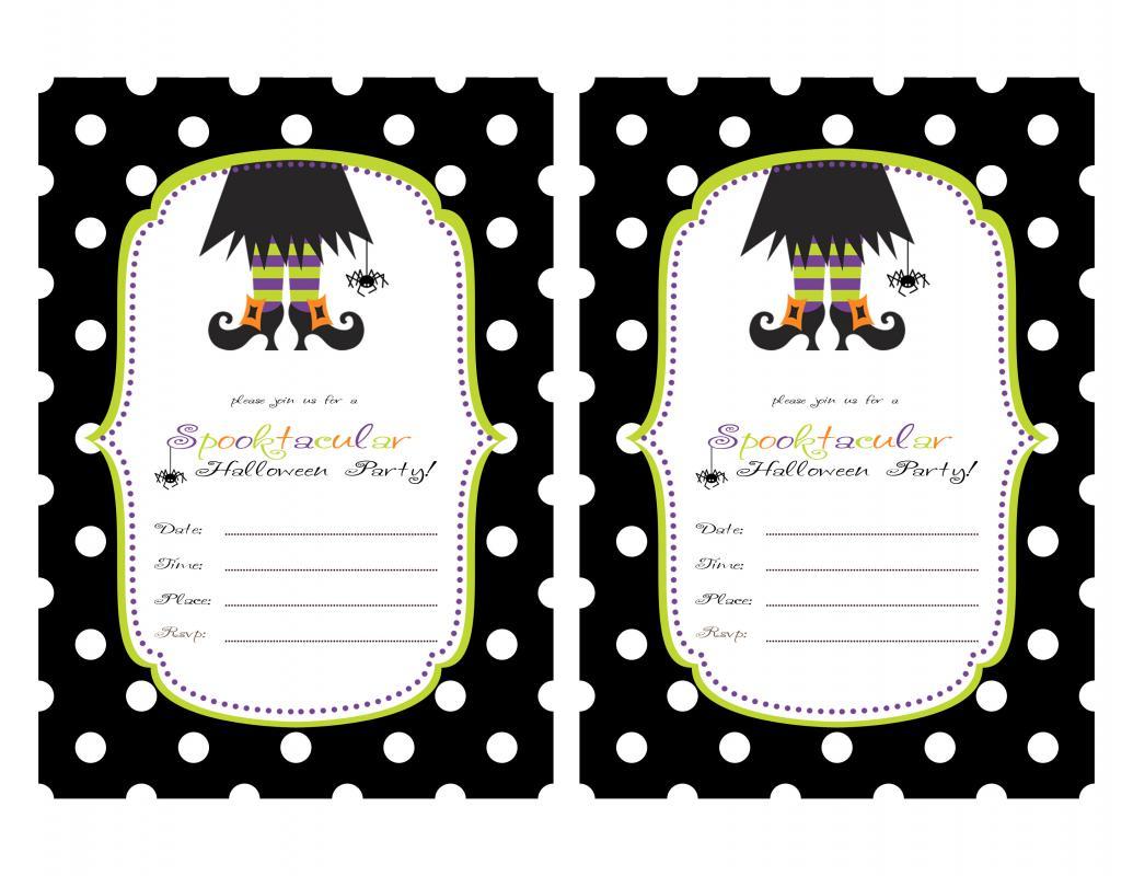 halloween party invitations templates