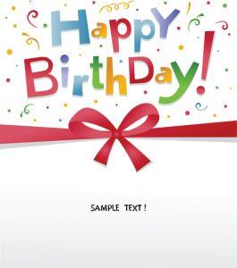 happy birthday banner template best happy birthday design elements vector set