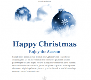 happy holidays emails emailtemplate